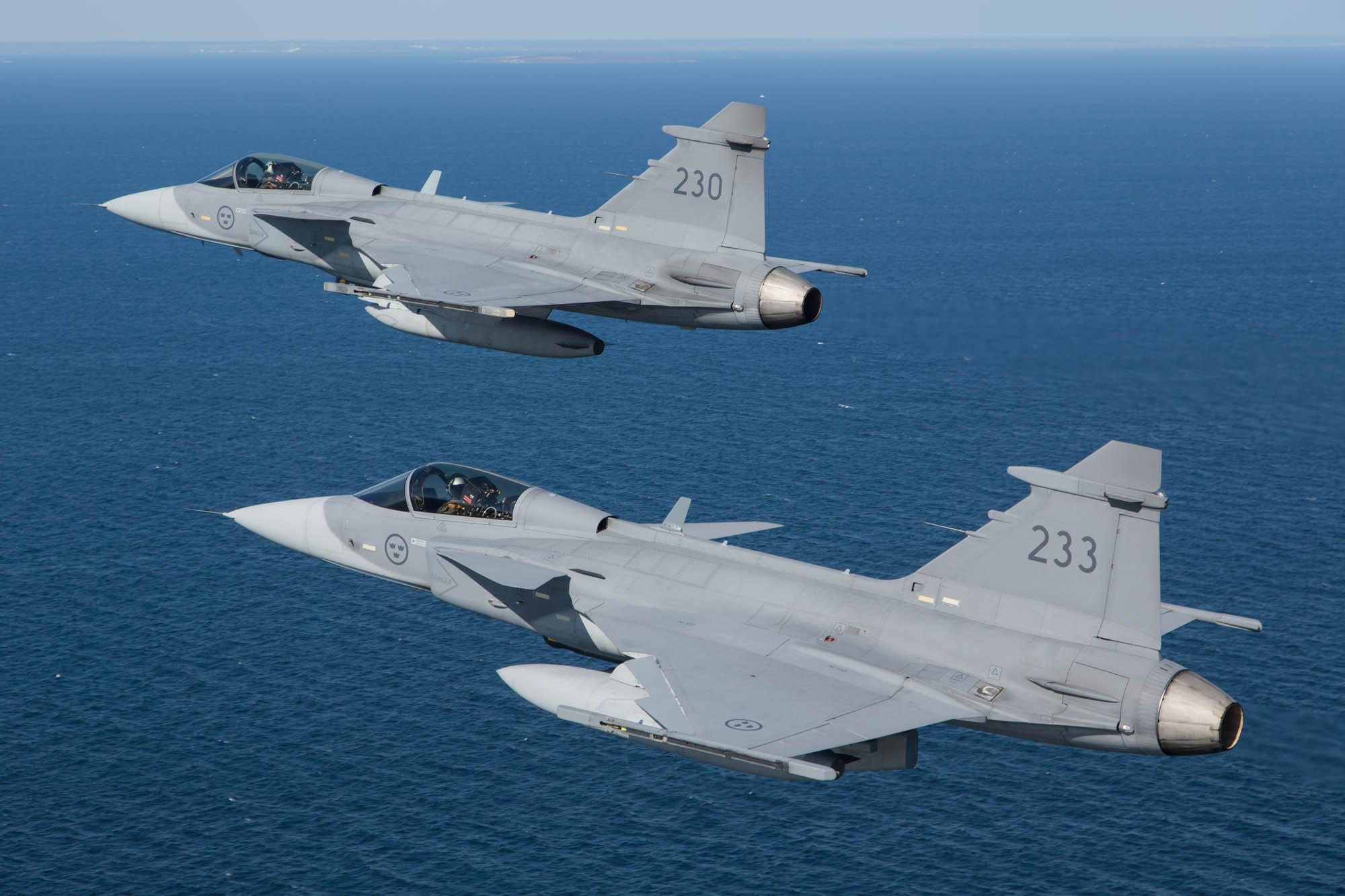 Aviation Photography Swedish Air Force (Flygvapnet), Gripen