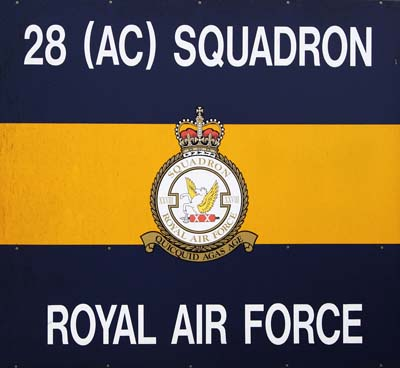 Aviation Photography RAF 28 Squadron